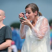 Nederland, Landgraaf, 12 juni 2015<br /> Publiek tijdens tijdens de eerste dag van het Pinkpopfestival.<br /> <br /> <br /> Foto: Jean-Pierre Jans