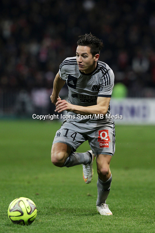 Florian THAUVIN - 23.01.2015 - Nice / Marseille - 22eme journee de Ligue 1<br />