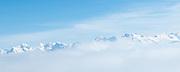 Blick auf die Berner Alpen