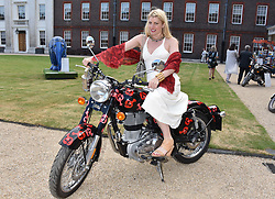 Meredith Ostrom at the Concours d'éléphant in aid of Elephant Family held at the Royal Hospital Chelsea, London, England. 28 June 2018.