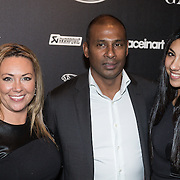 NLD/Amsterdam/20131201 - Vipnight LAF voetbalfair, Aron Winter, partner Yvonne Roose, dochter