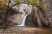 Momin Skok (Maiden's Jump) waterfall in Emen Gorge