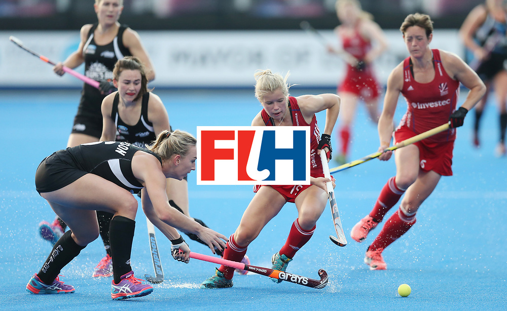 LONDON, ENGLAND - JUNE 21:  Sophie Bray of Great Britain during the FIH Women's Hockey Champions Trophy match between New Zealand and Great Britain at Queen Elizabeth Olympic Park on June 21, 2016 in London, England.  (Photo by Alex Morton/Getty Images)