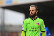 John Brayford during the Sky Bet League 1 match between Rochdale and Sheffield Utd at Spotland, Rochdale, England on 27 February 2016. Photo by Daniel Youngs.