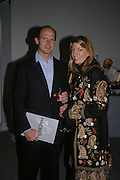 COUNT & COUNTESS RICCARDO PAVONCELLI . Almeida 25th Anniversay Gala. Gagosian Gallery, Brittania St. Kings Cross. London. 27 January 2005. ONE TIME USE ONLY - DO NOT ARCHIVE  © Copyright Photograph by Dafydd Jones 66 Stockwell Park Rd. London SW9 0DA Tel 020 7733 0108 www.dafjones.com