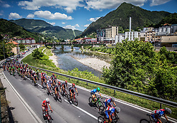Peloton in Lasko during last Stage 4 of 24th Tour of Slovenia 2017 / Tour de Slovenie from Rogaska Slatina to Novo mesto (158,2 km) cycling race on June 18, 2017 in Slovenia. Photo by Vid Ponikvar / Sportida