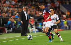 November 5, 2019, Valencia, Valencia, Spain: Domagoj Bradaric of Losc Lille during the during the UEFA Champions League group H match between Valencia CF and Losc Lille at Estadio de Mestalla on November 5, 2019 in Valencia, Spain (Credit Image: © AFP7 via ZUMA Wire)