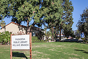 Pasadena Public Library Hill Ave. Branch