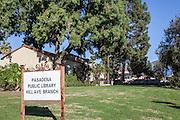 Pasadena Public Library Hill Ave. Branch