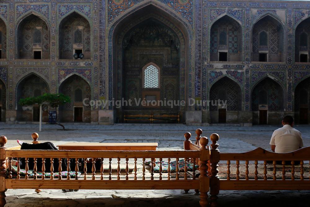 Sherdor madrassa, Samarkand, Uzbekiqtan // Sherdor madrassa, Samarcande, Ouzbekistan