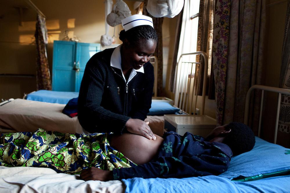 Clara Muchimba, midwife. Chikuni Mission Hospital, Zambia.