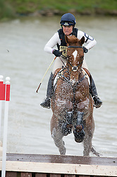Pippa Funnell (GBR) & Redesigned - Cross Country - CCI4* - Mitsubishi Motors Badminton Horse Trials 2014 - Badminton, Gloucestershire, United Kingdom - 10 May 2014