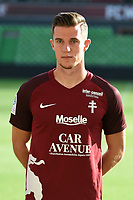 Chris Philipps of Metz during photoshooting of Fc Metz for season 2017/2018 on August 2nd 2017 in Metz<br /> Photo : Fred Marvaux / Icon Sport
