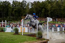 WETTSTEIN Nicolas (ECU), Meyer's Happy<br /> Tryon - FEI World Equestrian Games™ 2018<br /> Vielseitigkeit Teilprüfung Gelände/Cross-Country Team- und Einzelwertung<br /> 15. September 2018<br /> © www.sportfotos-lafrentz.de/Dirk Caremans