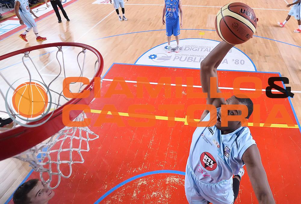 DESCRIZIONE : Mantova LNP 2014-15 All Star Game 2015 - Partita<br /> GIOCATORE : Brownlee Justin<br /> CATEGORIA : schiacciata special<br /> EVENTO : All Star Game LNP 2015<br /> GARA : All Star Game LNP 2015<br /> DATA : 06/01/2015<br /> SPORT : Pallacanestro <br /> AUTORE : Agenzia Ciamillo-Castoria/R.Morgano<br /> Galleria : LNP 2014-2015 <br /> Fotonotizia : Mantova LNP 2014-15 All Star Game 2015