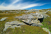 Rocky shoreline along the Atlantic Coast<br /> Rose Blanche<br /> Newfoundland <br /> Canada