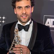 NLD/Scheveningen/20180124 - Musical Award Gala 2018, Tibor Lukacz wint de award voor Mannelijke bijrol Kleine Musical