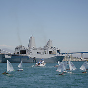 Sailing school students. Coronado, CA.