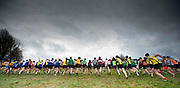 15/12/2018, Athletics Ireland Cross Country Championships at Navan Racecourse<br /> The start of the boys u-19 race<br /> David Mullen / www.cyberimages.net<br /> ISO: 800; Shutter: 1/1000; Aperture: 4; <br /> File Size: 2.5MB