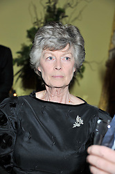 POLLY, MARCHIONESS OF LANSDOWNE at Ambassador Earle Mack's 60's reunion party held at The Ritz Hotel, London on 18th June 2012.