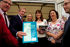 Taoiseach Enda Kenny at The Department of Agriculture, Food and the Marine Stand at The National Plo