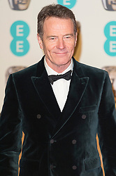 © Licensed to London News Pictures. 14/02/2016. London, UK.   BRIAN CRANSTON arrives on the carpet for the EE British Academy Film Awards 2016 after party held at Grosvenor House . London, UK. Photo credit: Ray Tang/LNPPhoto credit: Ray Tang/LNP