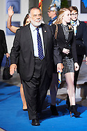 Francis Ford Coppola leave the 'Princesa de Asturias Awards 2015 (Princess of Asturias awards)' ceremony at the Campoamor Theater on October 23, 2015 in Oviedo, Spain.