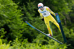 Justin Lisso from Germany during Ski Jumping Continental Cup Kranj 2018, on July 8, 2018 in Kranj, Slovenia. Photo by Urban Urbanc / Sportida