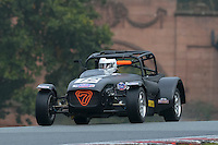 #72 Greenwood / Haire Caterham Supersport 1600 during the CSCC Gold Arts Magnificent Sevens at Oulton Park, Little Budworth, Cheshire, United Kingdom. October 15 2016. World Copyright Peter Taylor/PSP. <br /> Copy of publication required for printed pictures.  Every used picture is fee-liable. http://archive.petertaylor-photographic.co.uk