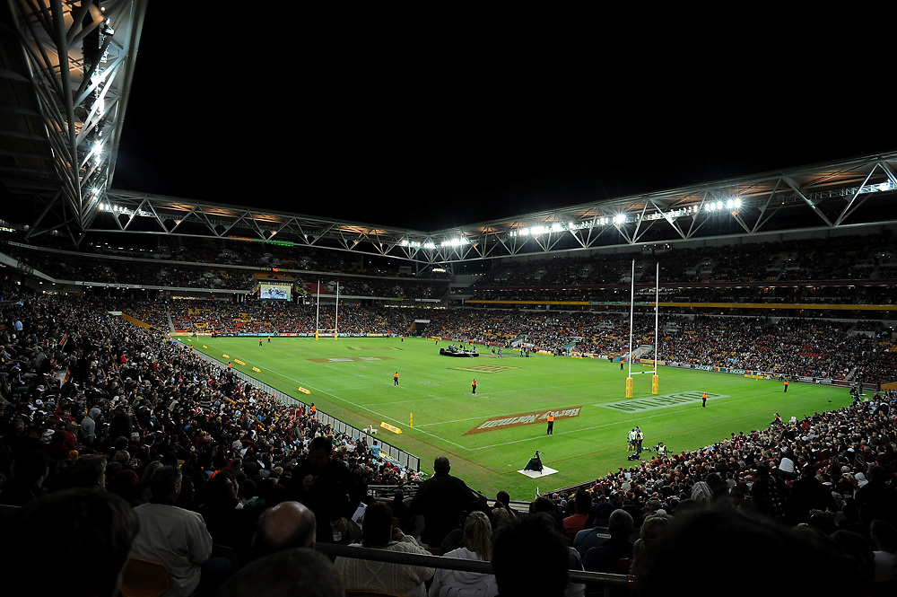 May 25th 2011: Atmosphere view of Suncorp Stadium before game 1 of the 2011 State of Origin series at Suncorp Stadium in Brisbane, Australia on May 25, 2011. Photo by Matt Roberts/mattrIMAGES.com.au / QRL