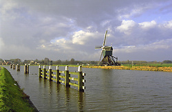 windmill on the canal