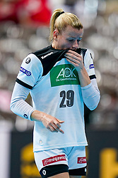 11-12-2019 JAP: Norway - Germany, Kumamoto<br /> Last match Main Round Group1 at 24th IHF Women's Handball World Championship, Norway win the last match against Germany with 32 - 29. / Antje Lauenroth #29 of Germany