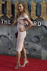 London, May 10th 2017. Jacqui Ainsley attends the European premiere of King Arthur - Legend of the Sword at the Cineworld Empire in Leicester Square.