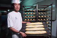 Hong Kong. Delifrance french  bread factory China   /  delifrance boulangerie francaise