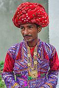 Portrait of a Gujarati groom from Maldhari community.