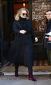 Adele wrapped up in New York