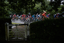 Martina Alzini (ITA) in the bunch during Stage 1 of 2019 OVO Women's Tour, a 157.6 km road race from Beccles to Stowmarket, United Kingdom on June 10, 2019. Photo by Sean Robinson/velofocus.com