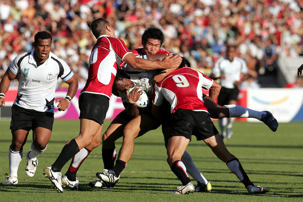 Fiji v Japan, Pool B, Match 11, Pool B. 12th September 2007. Stadium De Toulouse, Toulouse, France.