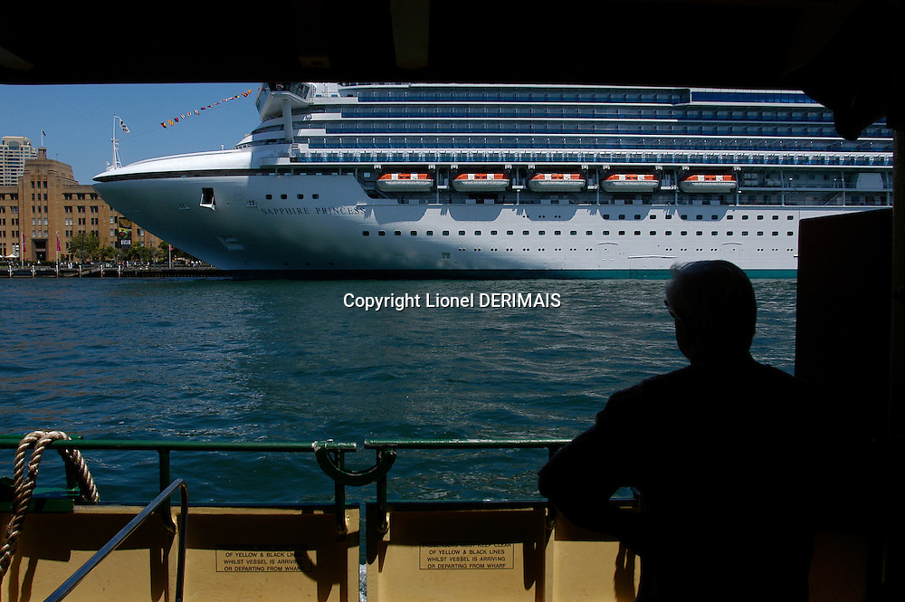 Sapphire Princess cruise ship, Sydney, Australia. January 2nd-11th 2007
