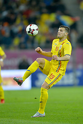 November 14, 2017 - Bucharest, Romania - George Tucudean (Rom) during the International Friendly match between Romania and Netherlands at National Arena Stadium in Bucharest, Romania, on 14 november 2017. (Credit Image: © Alex Nicodim/NurPhoto via ZUMA Press)