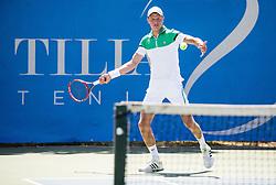 Klemen Nikolas of Slovenia during 1st Round of Qualifications at ATP Challenger Tilia Slovenia Open 2016, on August 6, 2016 in Portoroz/Portorose, Slovenia. Photo by Vid Ponikvar / Sportida