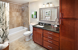 6301_Edsall The Isabella at Monticello Mews 6301 Edsall Road Alexandria, VA Master Bathroom