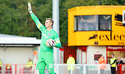 David Stockdale in control during the Pre-Season Friendly match between Crawley Town and Brighton and Hove Albion at the Checkatrade.com Stadium, Crawley, England on 22 July 2015. Photo by Michael Hulf.