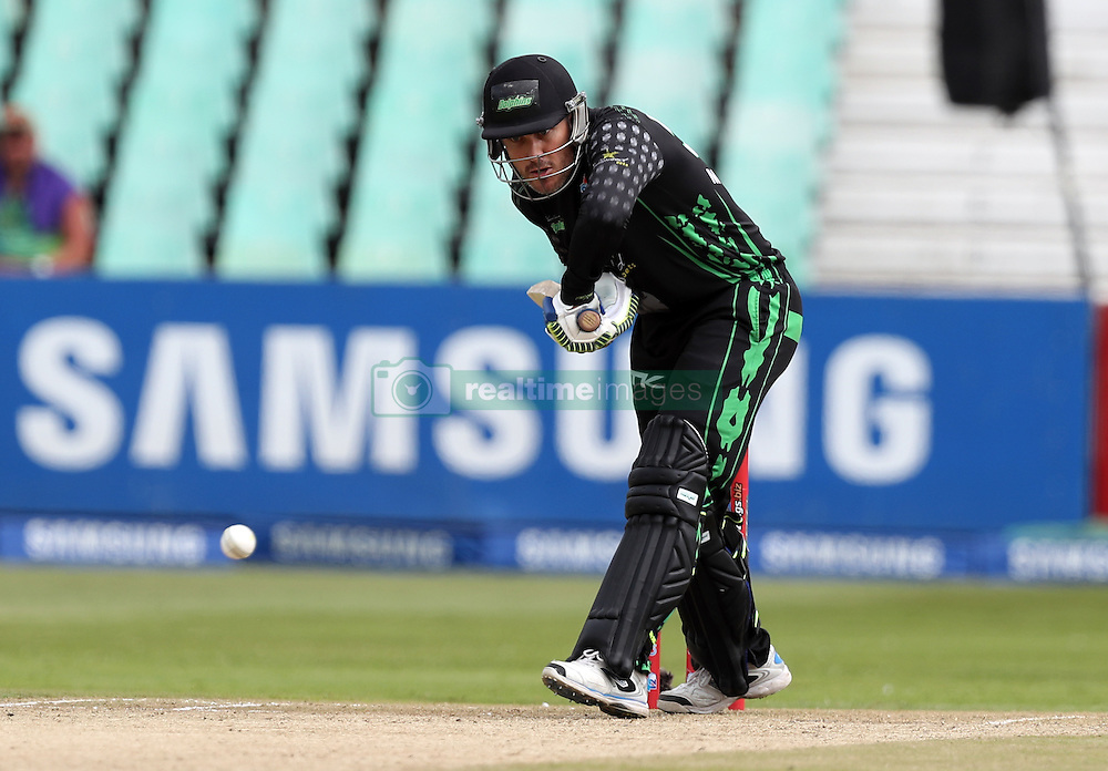 Morne van Wyk (captain) of Hollywoodbets Dolphins during the T20 Challenge cricket match between the Dolphins and the Cobras at the Kingsmead stadium in Durban, KwaZulu Natal, South Africa on the 4th December 2016<br /> <br /> Photo by:   Steve Haag / Real Time Images