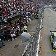 Jimmie Johnson completed the Sprint Cup race at Dover International Speedway in Dover Delaware.