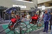 Rickshaw in Tokyo, Japan