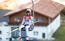 19.12.2014, Nordische Arena, Ramsau, AUT, FIS Nordische Kombination Weltcup, Skisprung, PCR, im Bild Mikko Kokslien (NOR) // during Ski Jumping of FIS Nordic Combined World Cup, at the Nordic Arena in Ramsau, Austria on 2014/12/19. EXPA Pictures © 2014, EXPA/ JFK
