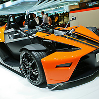 KTM X-Bow at the Geneva Motor Show 2008