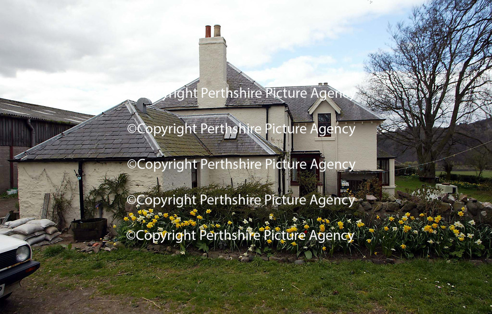 Leitch House on the outskirts of Perth home to Patricia Duthie which was attacked by Charles Sinclair after he found out she was cheating on him<br />see story by Gordon Currie Tel 01738 446766<br /><br />Picture by Graeme Hart.<br />Copyright Perthshire Picture Agency<br />Tel: 01738 623350  Mobile: 07990 594431
