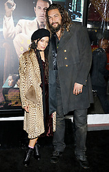 Lisa Bonet and Jason Momoa at the Los Angeles premiere of 'Live By Night' held at the TCL Chinese Theatre in Hollywood, USA on January 9, 2017.
